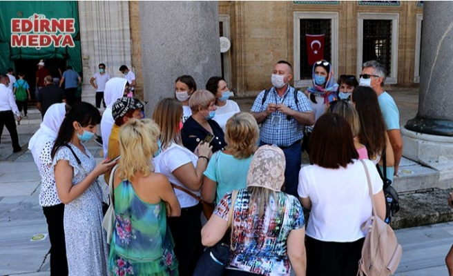 Edirne'ye hayran kaldılar