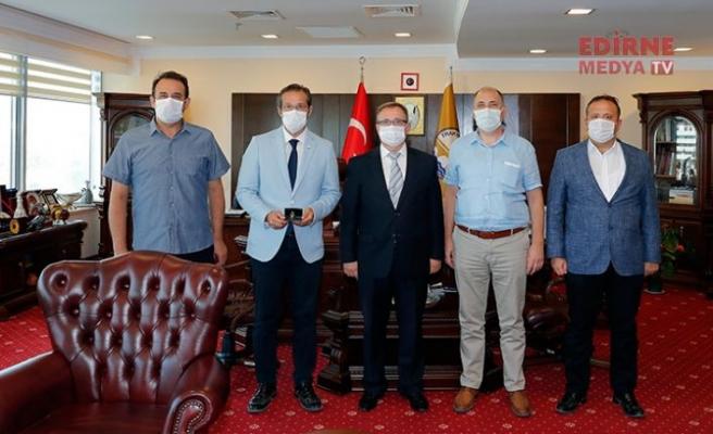 Prof.Dr. Türkyılmaz Rektör yardımcısı oldu