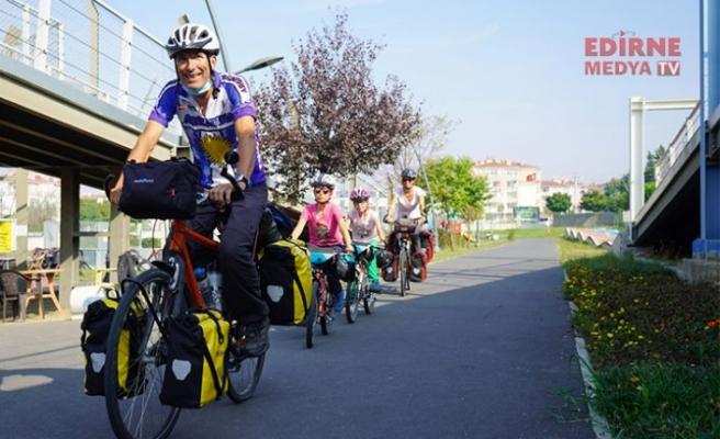 Bisikletle Türkiye'yi gezecekler