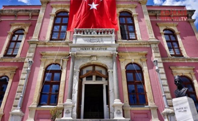 Edirne Belediyesinde Korona Alarmı