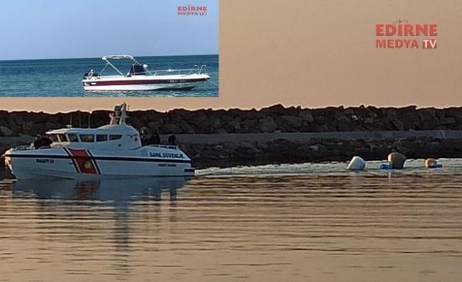 Batan tekne çıkarıldı