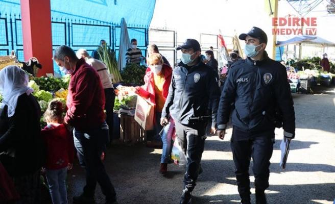 Polisten Bulgarca Kovid-19 uyarısı
