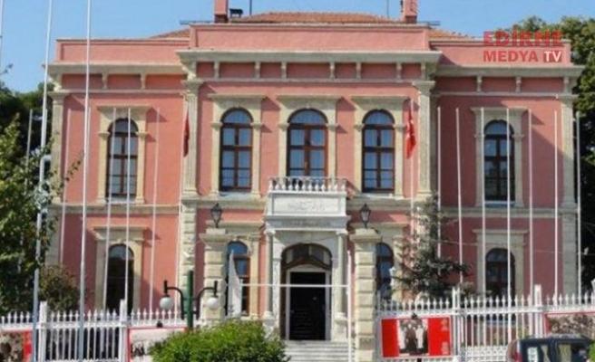 Edirne Belediyesinden açıklama geldi