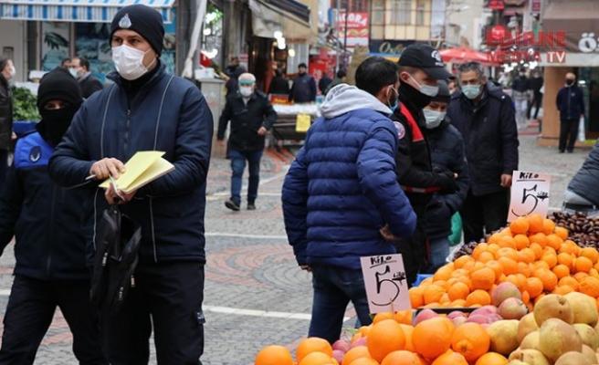 Seyyar satıcılara kuyruk cezası
