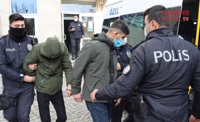 İstanbul'da çaldılar, Kırklareli'nde yakalandılar