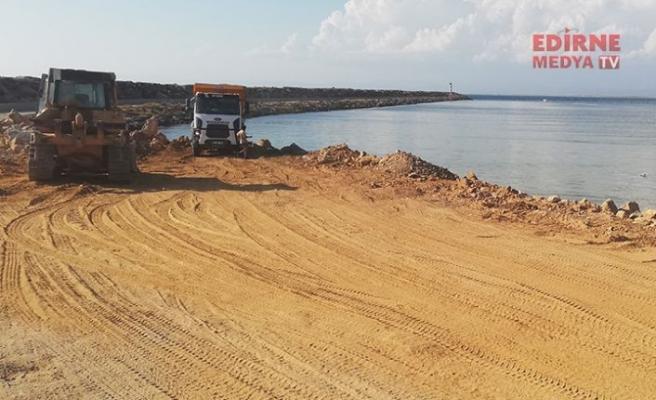 Deniz Hudut Kapısı inşaatı başladı