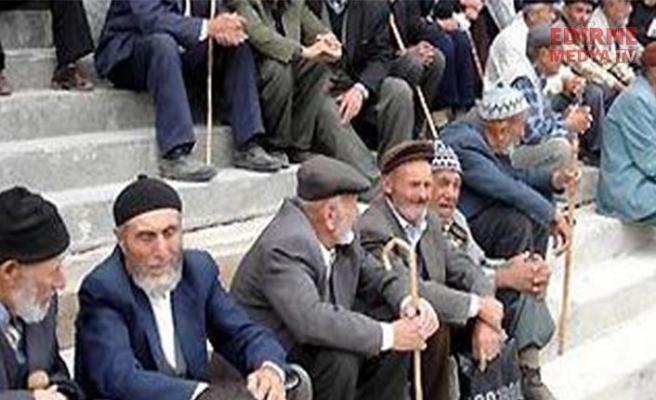 Edirne'de nüfus yaşlanıyor