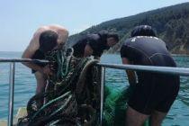 Denizin altına saklamışlar!