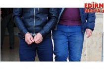 PKK üyesi Edirne'de yakalandı!
