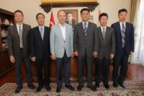 Çinli heyetten işbirliği ziyareti