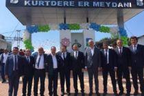 Gürkan'dan Kurtdereli Yağlı Güreşleri'ne destek