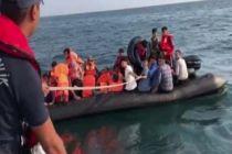Meriç Nehri'nde 40 düzensiz göçmen