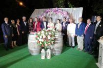 Muhteşem bir düğün töreni ile evlendiler