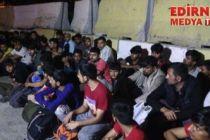 46 düzensiz göçmen yakalandı