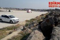 Enez'de göçmen faciası