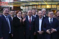 Akşener Edirne'de konuştu: Bu düzen değişecek