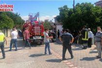 Küle dönen evde 2 kişi yaralandı