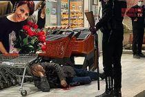 Eşini pompalı ile öldürdü