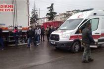 Talihsiz kazada çocuk işçi yaralandı!