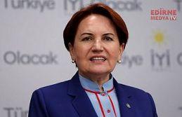 Meral Akşener Edirne'ye gelmiyor