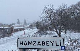 Kar, Hamzabeyli'den giriş yaptı