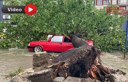 Fırtına Edirne'yiyıktı geçti