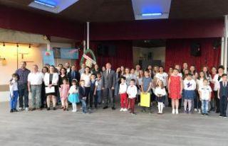 Bulgar Eğitim günü Edirne'de kutlandı