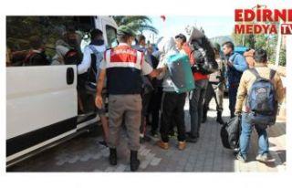 569 düzensiz göçmen yakalandı