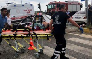 Edirne'de trafik kazası: 5 yaralı