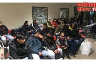 632 düzensiz göçmen yakalandı