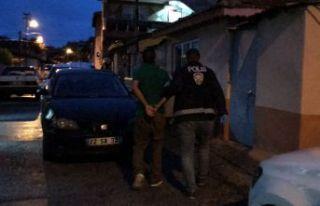 Uyuşturucu operasyonunda 8 tutuklama
