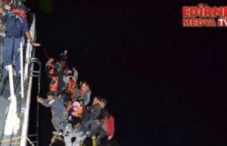Ege'de 36 düzensiz göçmen yakalandı