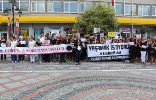 Kadın cinayetleri protesto edildi
