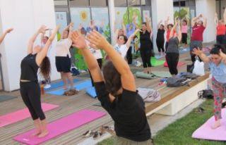 Yoga atölyesi açıldı