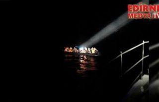 38 düzensiz göçmen yakalandı