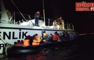 70 düzensiz göçmen yakalandı