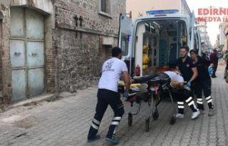 Kazada yaralandı