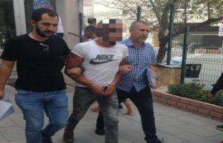 Yakalandı, tutuklandı