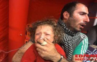 Yine Gaz bombası