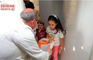 8 yaşındaki Belinay'a şaşırtan sürpriz
