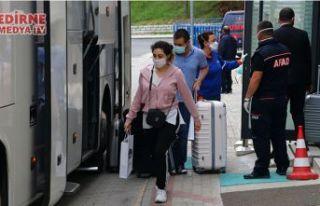144 kişi evlerine gönderildi