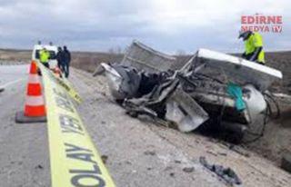 Kaç kişi trafik kazasında yaşamını kaybetti?