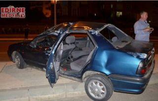 Otomobil takla attı; 4 yaralı