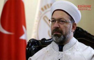 Ali Erbaş'a istifa çağrısı
