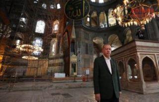 Cumhurbaşkanı Erdoğan'dan Ayasofya-i Kebir...