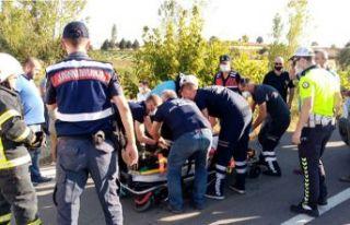 Dere yatağına devrilen araçta 1 kişi öldü