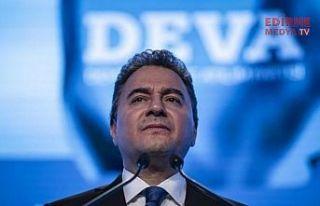 DEVA Partisi Genel Başkanı Ali Babacan, Koronavirüs'e...