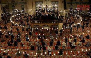 Selimiye Camisi'nde Mevlit Kandili idrak edildi