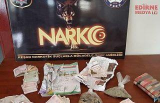 Uyuşturucu operasyonunda 2 gözaltı