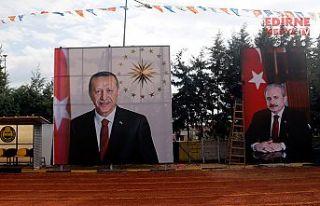Tekirdağ Başkan Erdoğan'ı bekliyor